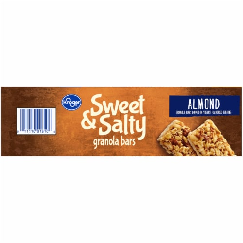Kroger® Sweet & Salty Almond Granola Bars Perspective: right