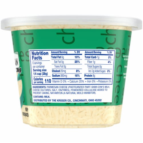 Kroger® Shredded Parmesan Cheese Perspective: right
