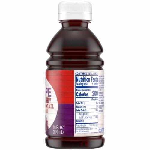 Kroger®  Grape Cranberry Juice Perspective: right