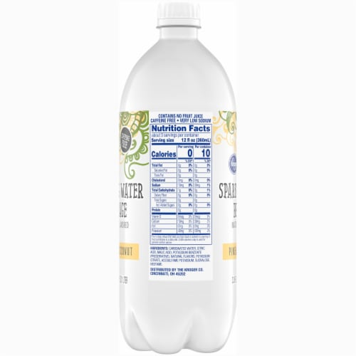 Kroger®  Pineapple Coconut Sparkling Water Perspective: right