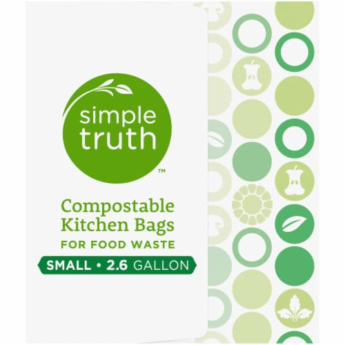 Simple Truth™ Small Compostable Kitchen Bags Perspective: right
