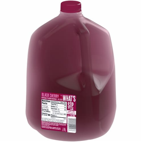 What's Sip? Black Cherry Flavored Beverage Perspective: right