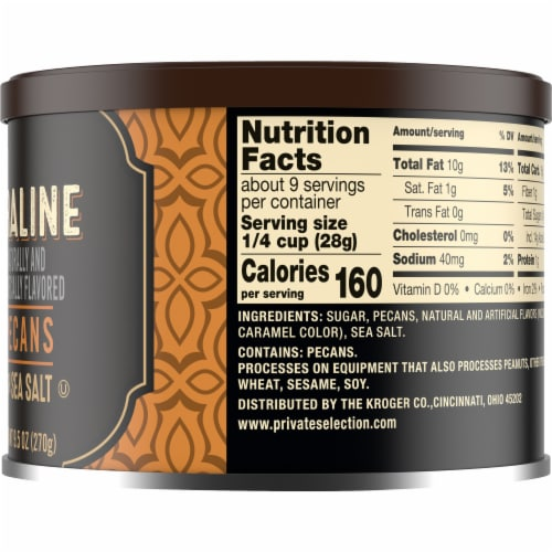 Private Selection® Praline Pecans With Sea Salt Perspective: right