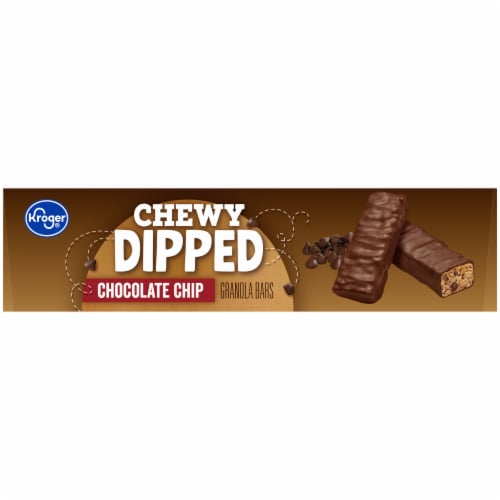 Kroger® Chewy Dipped Chocolate Chip Granola Bars Perspective: right