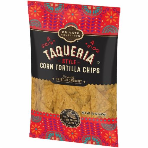 Private Selection® Taqueria Style Corn Tortilla Chips Perspective: right