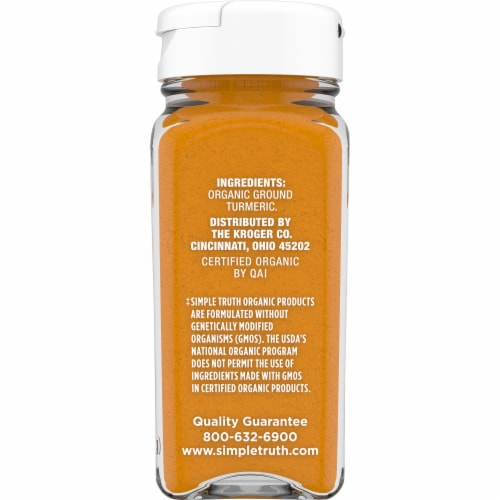 Simple Truth Organic™ Ground Turmeric Perspective: right