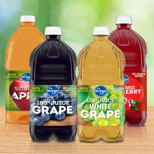 Kroger® Unfiltered 100% Apple Juice Perspective: right