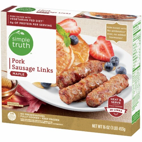 Simple Truth™ Maple Pork Sausage Links Perspective: right