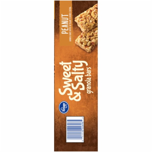 Kroger® Sweet & Salty Peanut Granola Bars Perspective: right