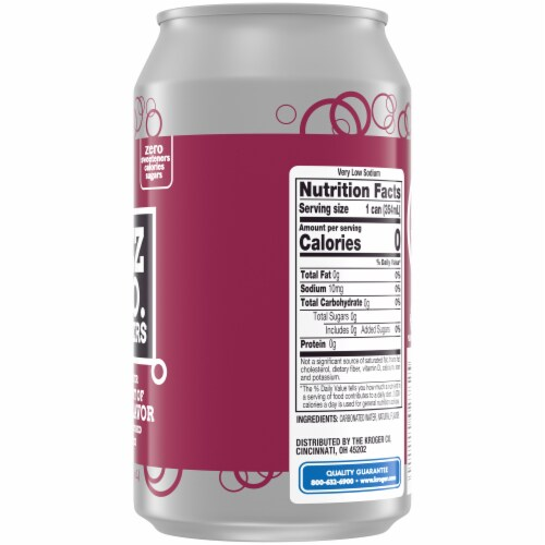 Kroger® Fizz & Co. Seltzers The Dr. Flavor Seltzer Water Perspective: right