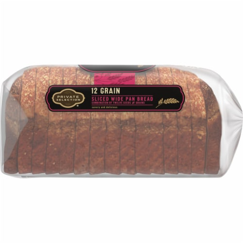 Private Selection® 12-Grain Sliced Wide Pan Bread Perspective: right