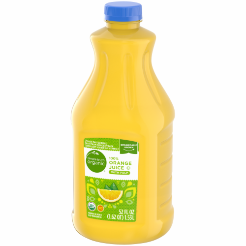 Simple Truth Organic® 100% Orange Juice with Pulp Perspective: right