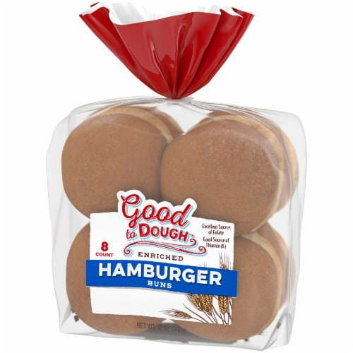 Good to Dough™ Hamburger Buns Perspective: right