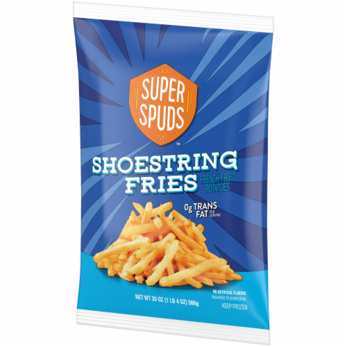 Super Spuds Shoestring Fries Perspective: right