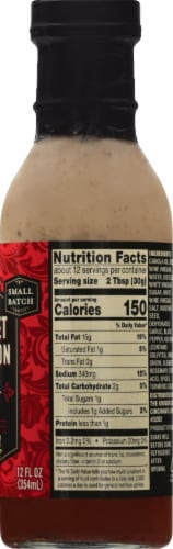 Private Selection® Cabernet Sauvignon Red Wine Vinaigrette Dressing Perspective: right