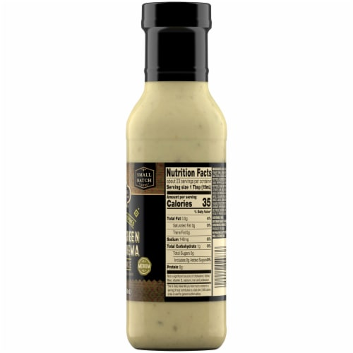 Private Selection® Hatch Green Chile Crema Medium Wing Sauce Perspective: right