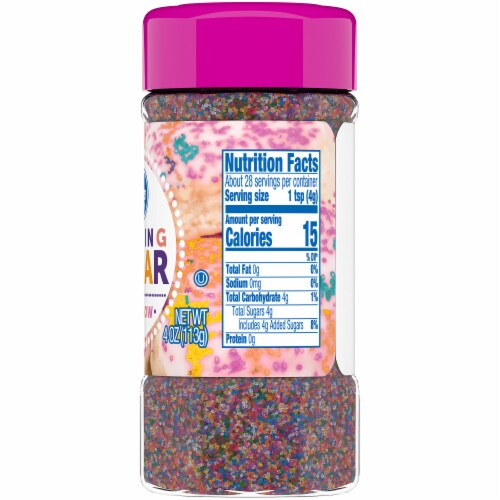 Kroger® Rainbow Sanding Sugar Perspective: right