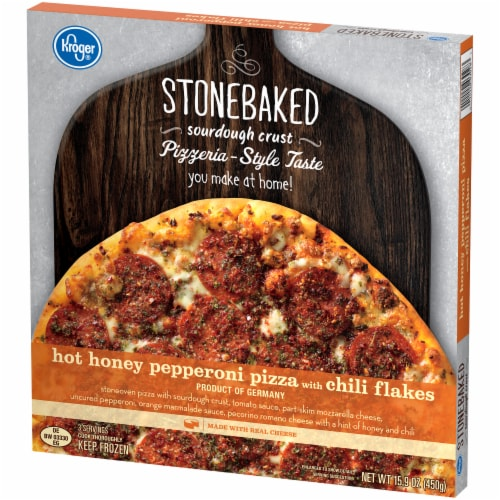 Kroger® Hot Honey Pepperoni Pizza Perspective: right