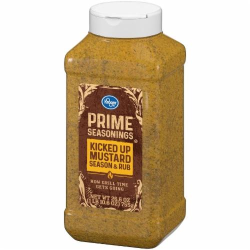 Kroger® Prime Seasonings Kicked Up Mustard Season & Rub Perspective: right