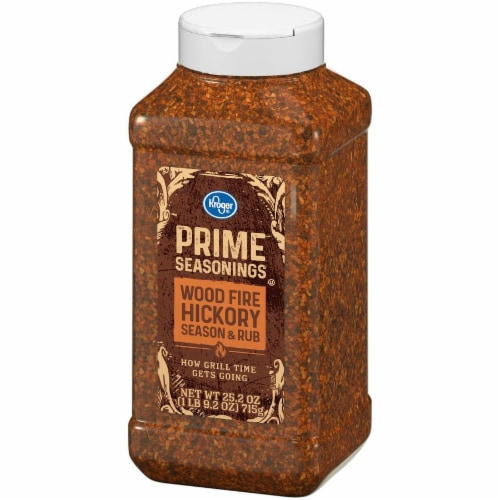 Kroger® Prime Seasonings Wood Fire Hickory Season & Rub Perspective: right
