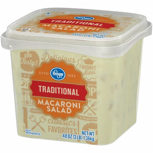 Kroger® Traditional Macaroni Salad Perspective: right