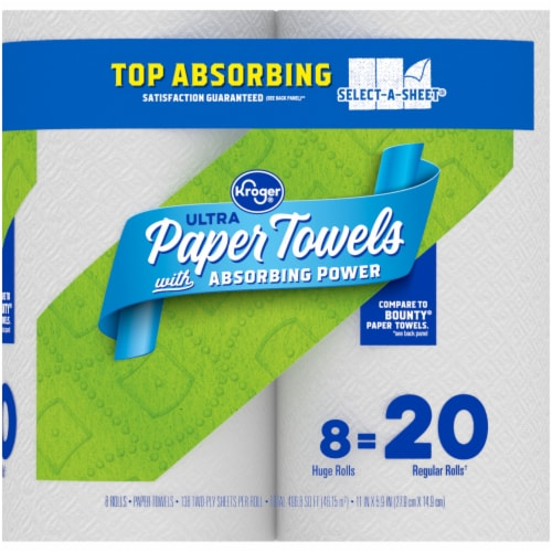 Kroger® Select-A-Sheet Paper Towels Perspective: right