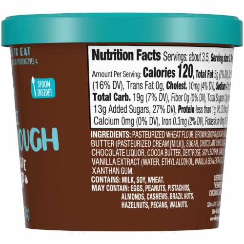 Kroger® Edible Chocolate Chip Cookie Dough Perspective: right