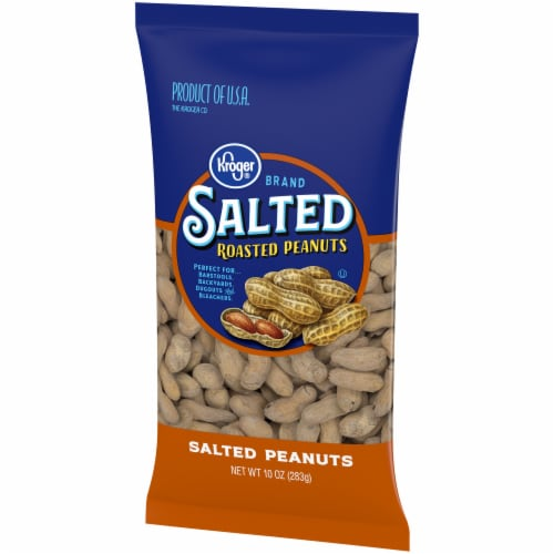 Kroger® Salted In-Shell Peanuts Perspective: right