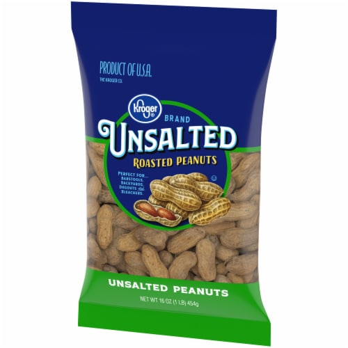 Kroger® Unsalted In-Shell Peanuts Perspective: right