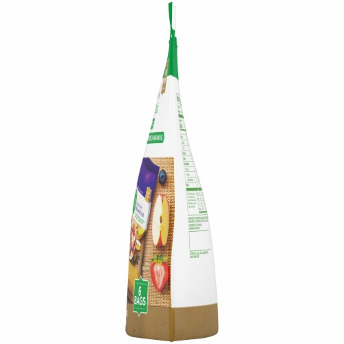 Simple Truth™ Mixed Fruit & Strawberry Banana Freeze Dried Fruit Variety Pack Perspective: right
