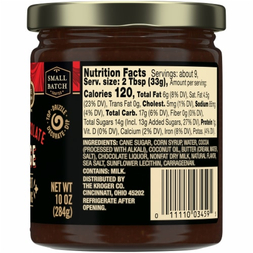 Private Selection™ Dark Chocolate Fudge Dessert Topping Perspective: right