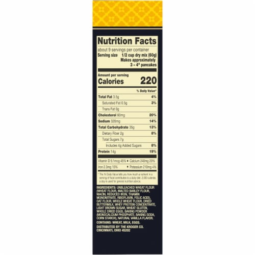 Private Selection® Buttermilk Protein Pancake Mix Perspective: right