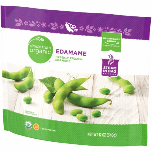 Simple Truth Organic® Frozen Edamame Perspective: right