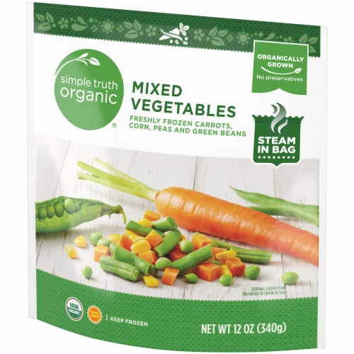 Simple Truth Organic® Fresh Frozen Mixed Vegetables Perspective: right
