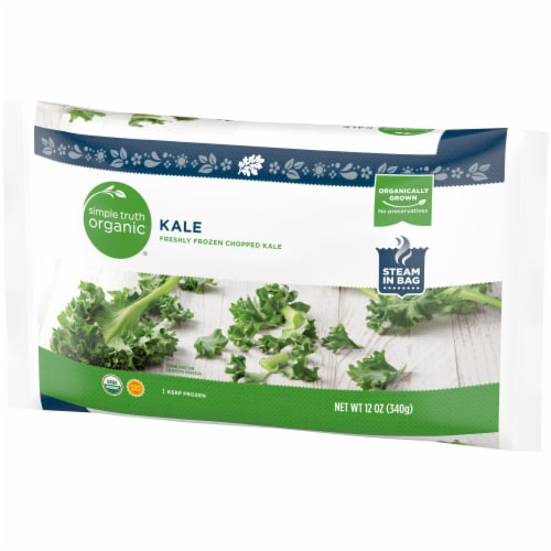Simple Truth Organic™ Chopped Kale Perspective: right
