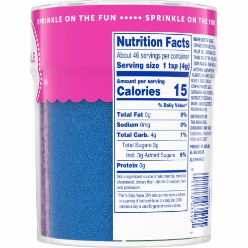 Kroger® 6 Cell Sprinkle Mix Perspective: right