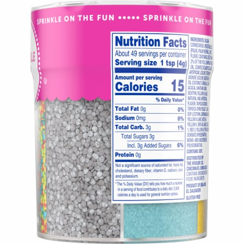 Kroger® Sprinkle Mix Perspective: right