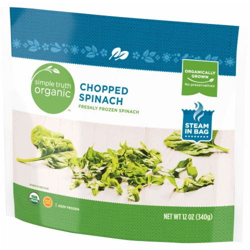 Simple Truth Organic™ Chopped Spinach Perspective: right