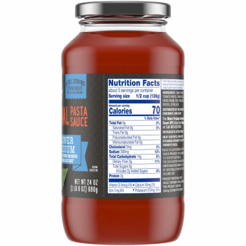 Kroger® Lower Sodium Traditional Pasta Sauce Perspective: right
