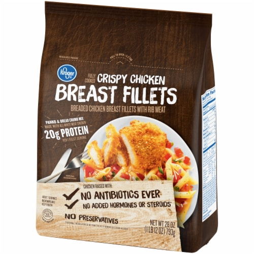 Kroger® Fully Cooked Crispy Chicken Breast Fillets Perspective: right