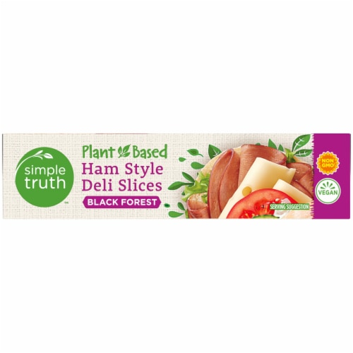 Simple Truth™ Plant-Based Black Forest Ham Style Deli Slices Box Perspective: right