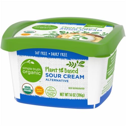 Simple Truth Organic™ Gluten Free Non-Dairy Sour Cream Perspective: right