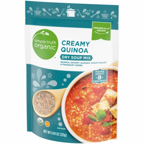 Simple Truth Organic™ Creamy Quinoa Dry Soup Mix Perspective: right