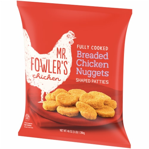Mr. Fowler's® Breaded Chicken Nuggets Perspective: right