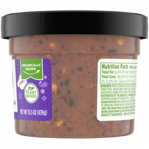 Simple Truth Organic® Spicy Black Bean Soup Perspective: right