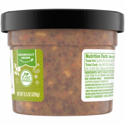 Simple Truth Organic® Lentil Vegetable Soup Perspective: right