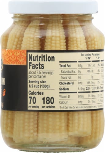 Private Selection™ Jarred Baby Corn in Brine Perspective: right