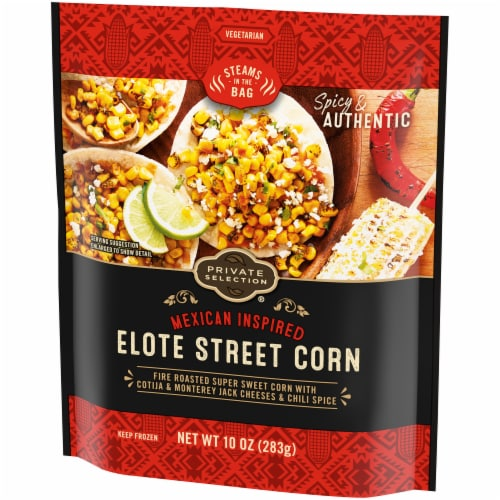 Private Selection® Mexican Inspired Elote Mexican Corn Perspective: right