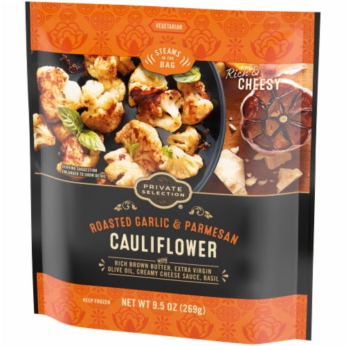 Private Selection® Roasted Garlic & Parmesan Cauliflower Perspective: right