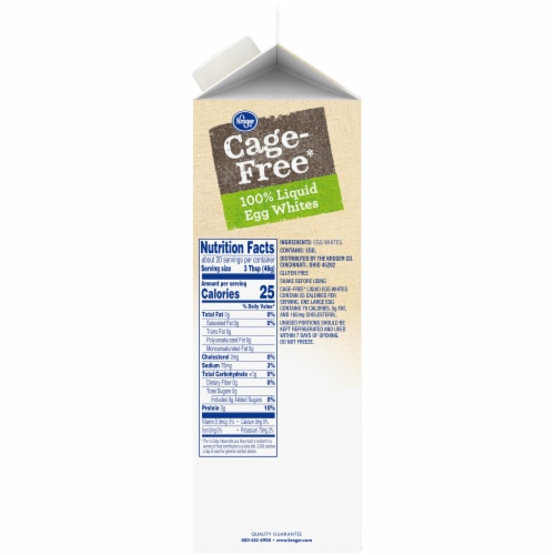 Kroger® Cage Free Egg Whites Perspective: right